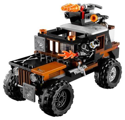Set LEGO 76050: furgoneta atraco Calavera
