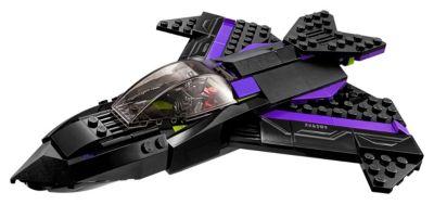 Set LEGO 76047 Inseguimento Pantera Nera
