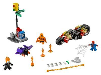 LEGO Spider-Man Ghost Rider Fighter Set 76058