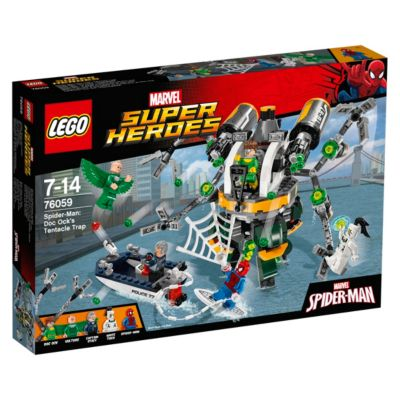 LEGO Spider-Man Doc Ock's Tentacle Trap Set 76059