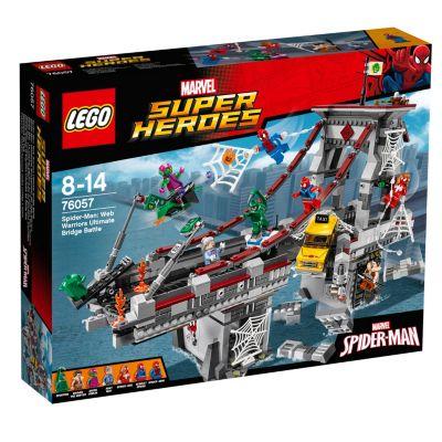 LEGO Spider-Man: Web Warriors Ultimate Bridge Battle Set 76057