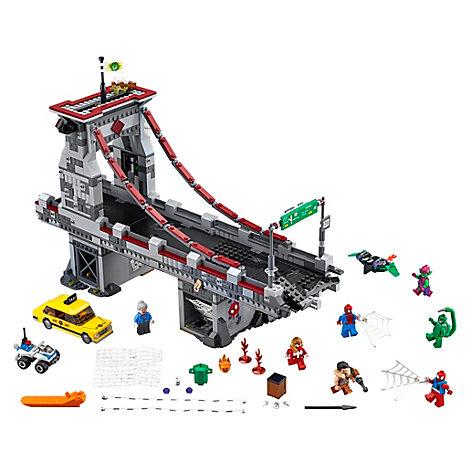LEGO Spider-Man Batalla final puente guerreros arácnidos (set 76057)