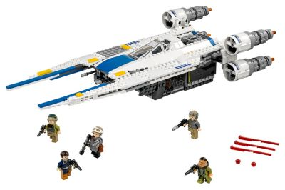 Set LEGO 75155 Rebel U-Wing Fighter, Rogue One: A Star Wars Story