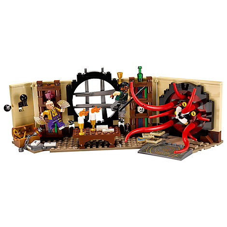 Ensemble LEGO 76060 Strange's Sanctum Sanctorum