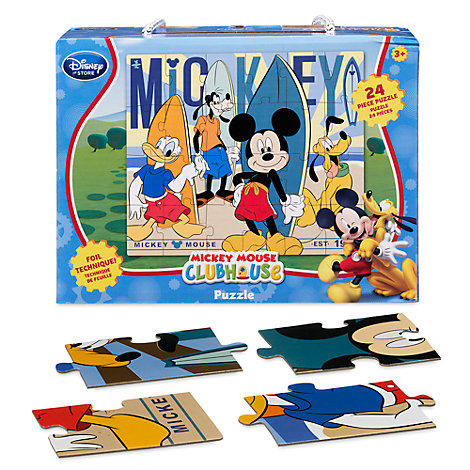 Mickey Mouse 24 Piece Puzzle