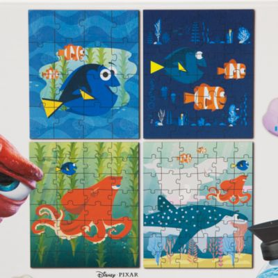 Finding Dory Puzzles, Pack of 4