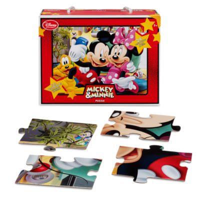 Puzle 24 piezas Minnie y Mickey Mouse