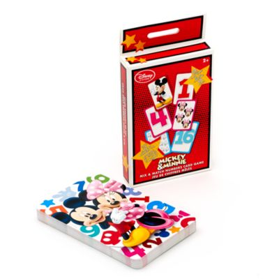 Mickey and Minnie Mouse Matching Pairs Game