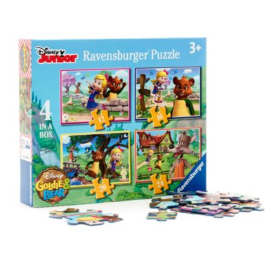 Goldie & Bear 4 in 1 Puzzle