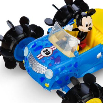 Mickey Mouse Ripcord Carwash Colour-Change Playset