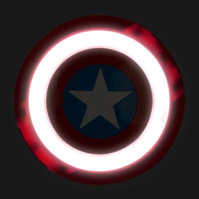 Juego de máscara y escudo Capitán América