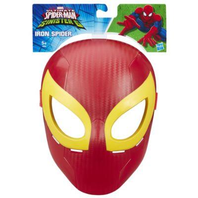 Maschera supereroe Uomo Ragno Iron Spider, Ultimate Spider-Man contro i Sinistri Sei