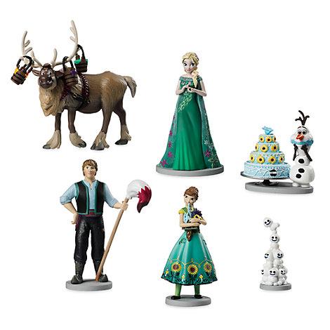 Frozen Fever Figurine Set
