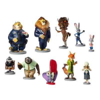 Set personaggi Deluxe Zootropolis