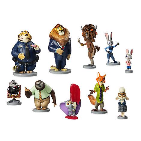 Ensemble de figurines de luxe Zootopie