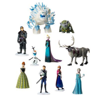 Ensemble de figurines de luxe La Reine des Neiges