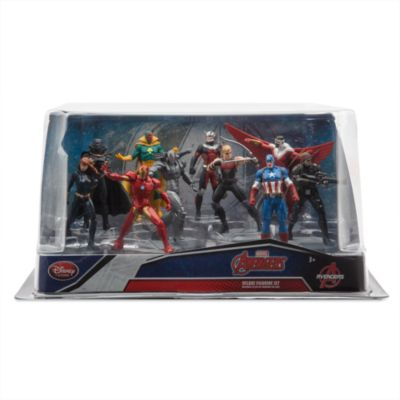 Ensemble de figurines de luxe Captain America : Civil War
