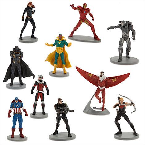 Juego figuritas Capitán América: Civil War Lujo