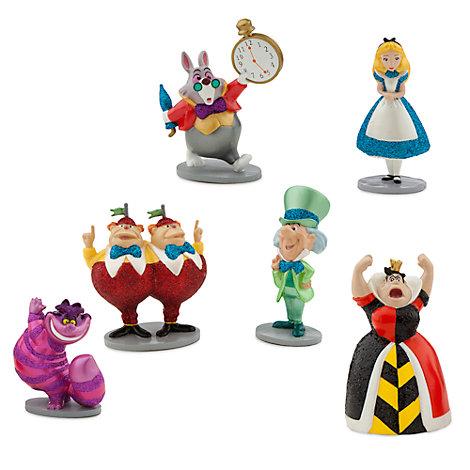 Alice In Wonderland Figurine Playset