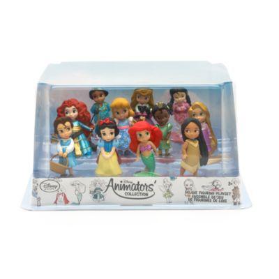 Set da gioco con personaggi deluxe collezione Disney Animators