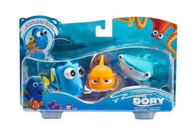 Jouets pour le bain Dory, Marin et Destiny, Le Monde de Dory