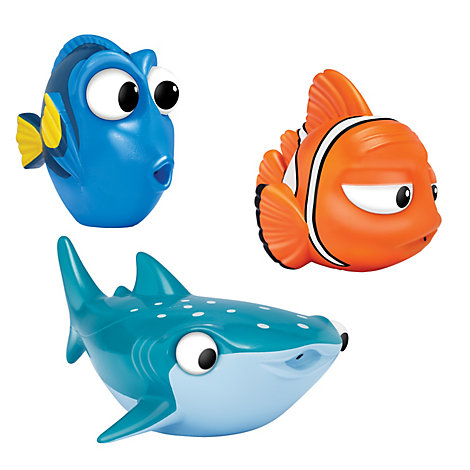 Findet Dorie - Dorie, Marlin und Destiny Badespielzeug