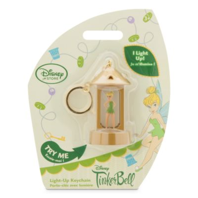 Tinker Bell Light-Up Key Chain