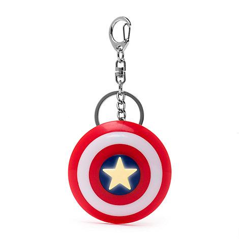 Captain America Shield Light-Up Keyring
