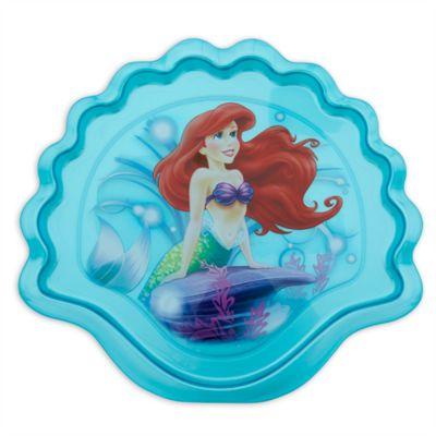 Plato con forma de concha Ariel, La Sirenita