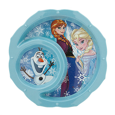 Frozen Glitter Plate