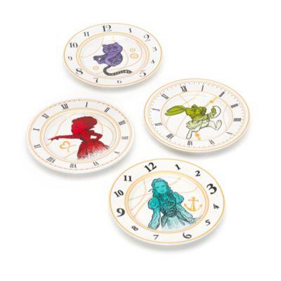 Alice im Wunderland - Hinter den Spiegeln - Set mit vier Tellern