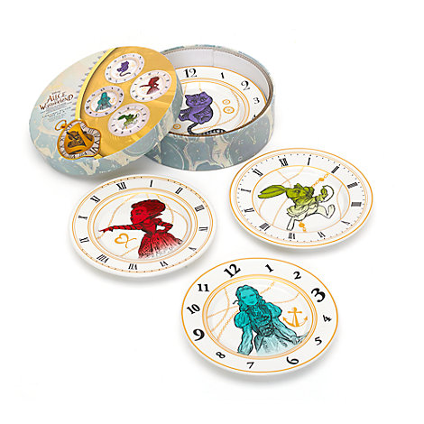 Plates Set Of 4, Alice In Wonderland: Through The Looking Glass