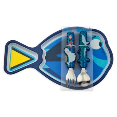 Finding Dory Plate And Cutlery Set