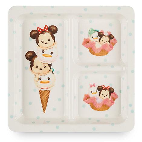 Assiette carrée Mickey et ses amis Tsum Tsum