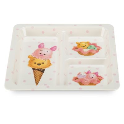 Assiette carrée Winnie et ses amis Tsum Tsum