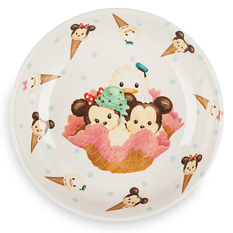Mickey Mouse and Friends Tsum Tsum Plate
