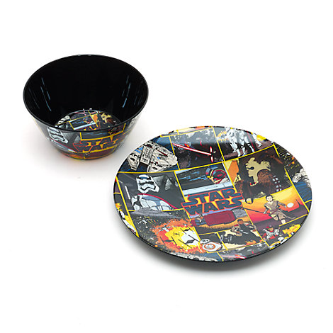 Star Wars Plate And Bowl Set