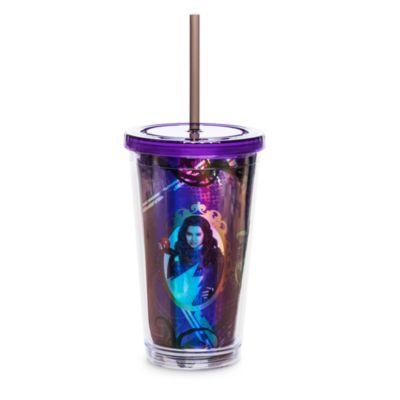 Bicchiere con cannuccia Disney Descendants