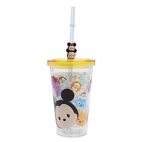 Disney Tsum Tsum - Trinkbecher mit Strohhalm