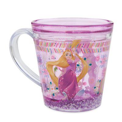 Tazza trasparente Rapunzel
