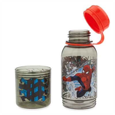 Spider-Man Drinks Bottle with Snack Pot