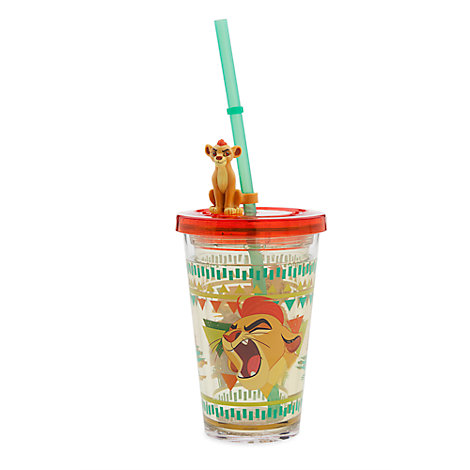 The Lion Guard Waterfill Tumbler With Straw