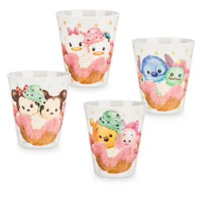 Tsum Tsum Cup, Set of 4