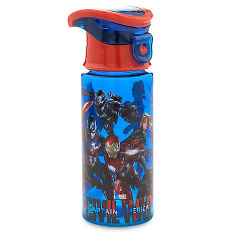 Captain America Water Bottle