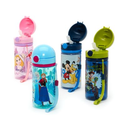Mickey Mouse And Pluto Canteen Water Bottle
