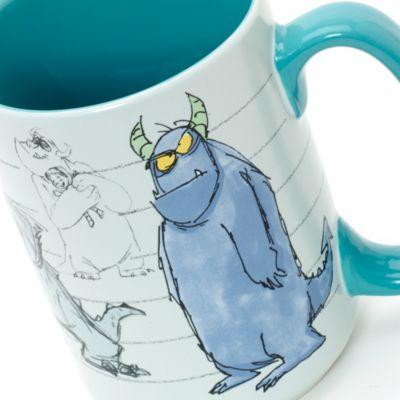 Sulley Concept Art Mug, Monsters, Inc.
