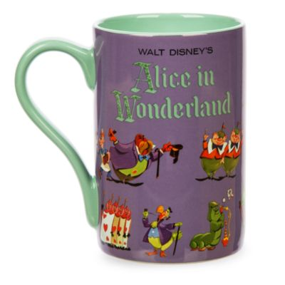 Alice In Wonderland Record Cover Artwork Mug