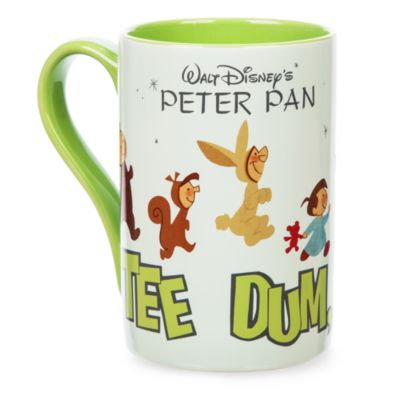 Peter Pan And Friends Record Cover Artwork Mug