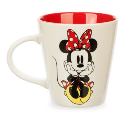 Minnie Mouse Glitter Bow Mug