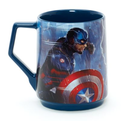 Tazza Capitan America e Iron Man